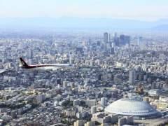 Primer avión comercial japonés a reacción