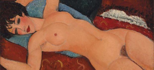 'Desnudo acostado', de Amedeo Modigliani