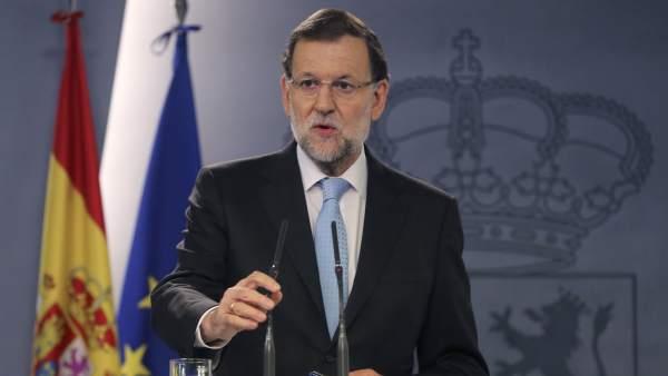 Respuesta de Rajoy a Cataluña