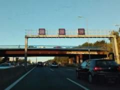 Madrid vuelve a limitar este martes la velocidad en la M-30 a 70km/h por la alta contaminaci�n