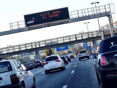 Restricciones al tráfico en Madrid