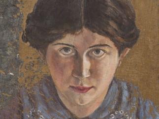 Hannah Ryggen - Self-Portrait, 1914