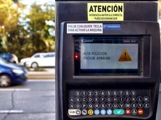 Madrid proh�be aparcar en el centro