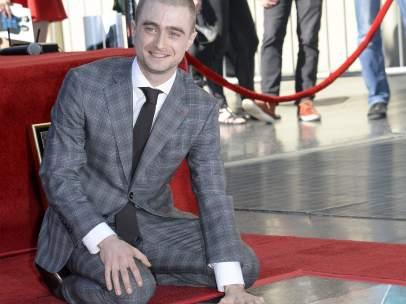 Daniel Radcliffe recibe su estrella