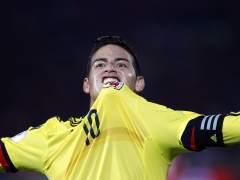 Un obsceno gesto de James Rodríguez indigna a Colombia