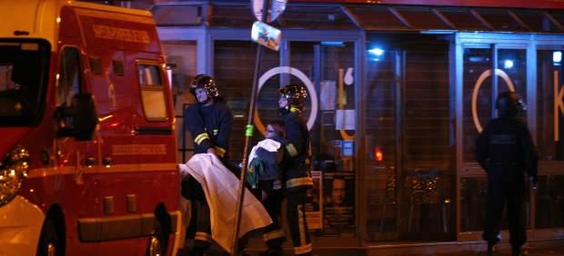 Heridos en los atentados de París