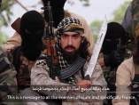 Imagen de un vídeo difundido por el Estado Islámico.