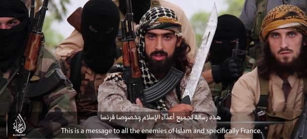 Imagen del vídeo difundido por el Estado Islámico.