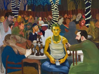 Nicole Eisenman, (1965), Beer Garden with Ash, 2009