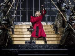 Madonna deslumbra en Barcelona en el primero de sus dos conciertos en Espa�a