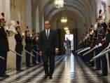 El presidente francés François Hollande