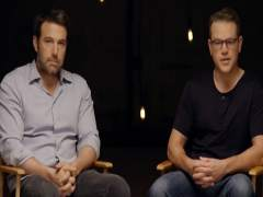 Matt Damon y Ben Affleck trabajarán juntos en una nueva serie, 'City on a Hill'