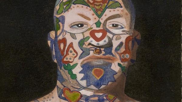 Peter Blake, Tattooed Man 5, 2015