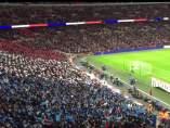 La Marsellesa en Wembley