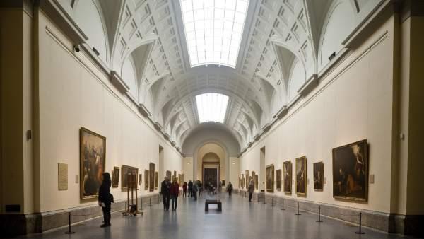 Sala del Museo del Prado