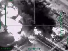 Al menos doce muertos por bombardeos contra el basti�n del Estado Isl�mico en Siria