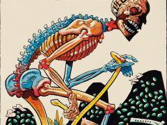Cartas de tarot, cine lascivo y �rboles en el arte de Jamie Hewlett, creador de Gorillaz