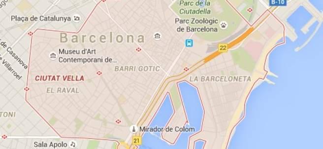 Distrito de Ciutat Vella de Barcelona