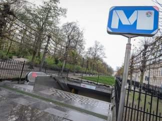 Estación de metro de Bruselas