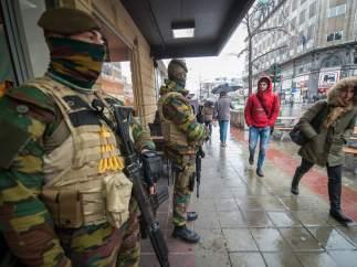 Nivel de alerta máxima en Bruselas