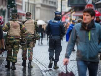 Patrullando Bruselas
