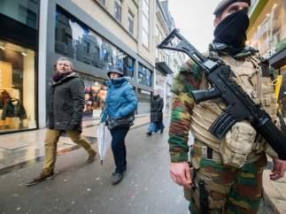 Refuerzos de seguridad en el centro de Bruselas