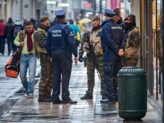 Alerta máxima en la capital belga