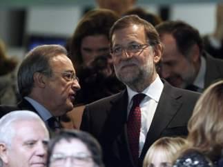 Rajoy, en el palco