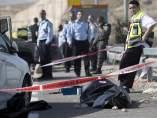 Un palestino fallecido