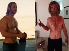 Chris Hemsworth adelgaza de forma extrema para un papel