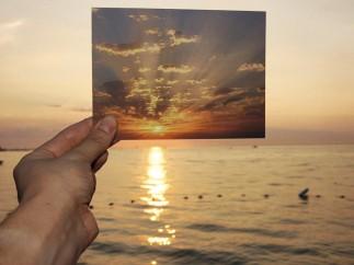 Lisa Oppenheim - The Sun is Always Setting Somewhere Else, 2006 (detail)