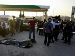 Un palestino es abatido a tiros tras atropellar a dos soldados israel�es