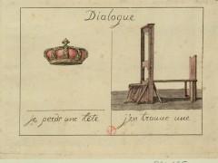 Je perds une tête, j'en trouve une, c. 1793