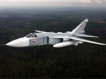Turquía derriba un caza ruso