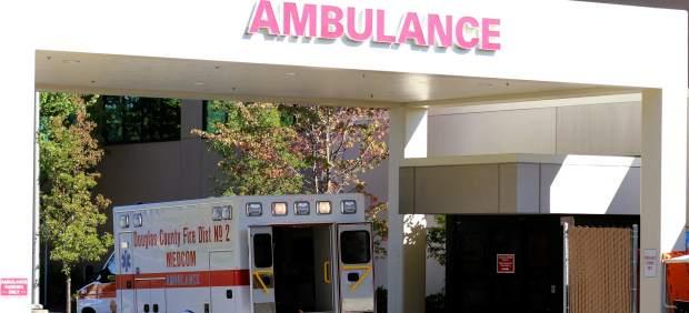 Una ambulancia de EE UU