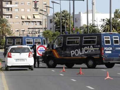 Controles policiales en Valencia