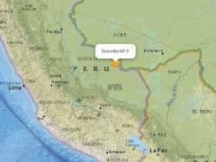 Un se�smo de magnitud 7 sacude la frontera de Per� con Brasil y Bolivia