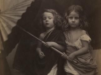 Paul and Virginia, Julia Margaret Cameron, 1864