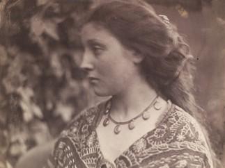Sappho, Julia Margaret Cameron, 1865