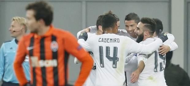 Gol del Madrid al Shakhtar