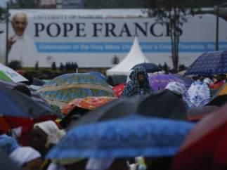 El papa en Kenia