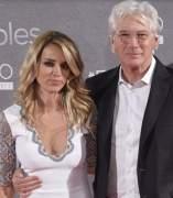 Richard Gere y su novia Adriana Silva