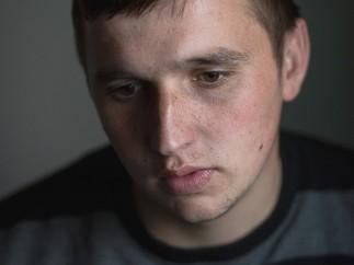Ibro, 22 years old. Near to Srebrenica, March 2013 © Stéphanie Borcard and Nicolas Métraux