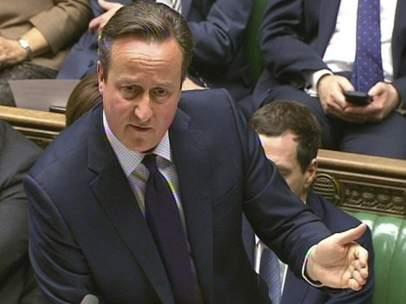 David Cameron en la Cámara de los Comunes