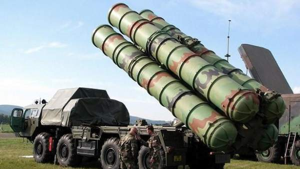 Misiles S-400 rusos
