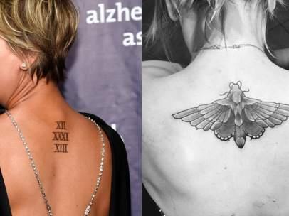 Tatuaje de Kaley Cuoco