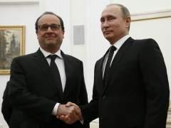 Putin y Hollande coordinar�n sus fuerzas militares y servicios secretos para derrotar a EI
