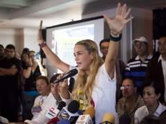 """Lilian Tintori, esposa del opositor venezolano Leopoldo L�pez: """"Me quieren matar"""""""