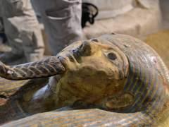 Arque�logos espa�oles hallan en Luxor un sarc�fago intacto