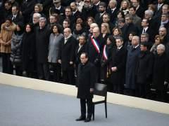 Francia homenajea a los fallecidos de los atentados del 13-N
